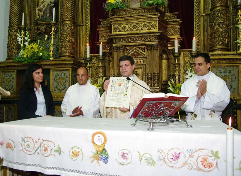 Missa Nova do Padre Vitor Manuel Teixeira Carreira