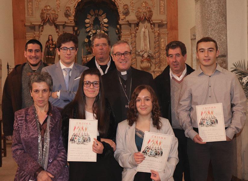 Visita Pastoral de D. António Couto à Paróquia do Seixo