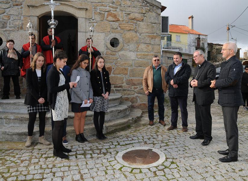 Visita Pastoral de D. António Couto à Paróquia de Penela da Beira