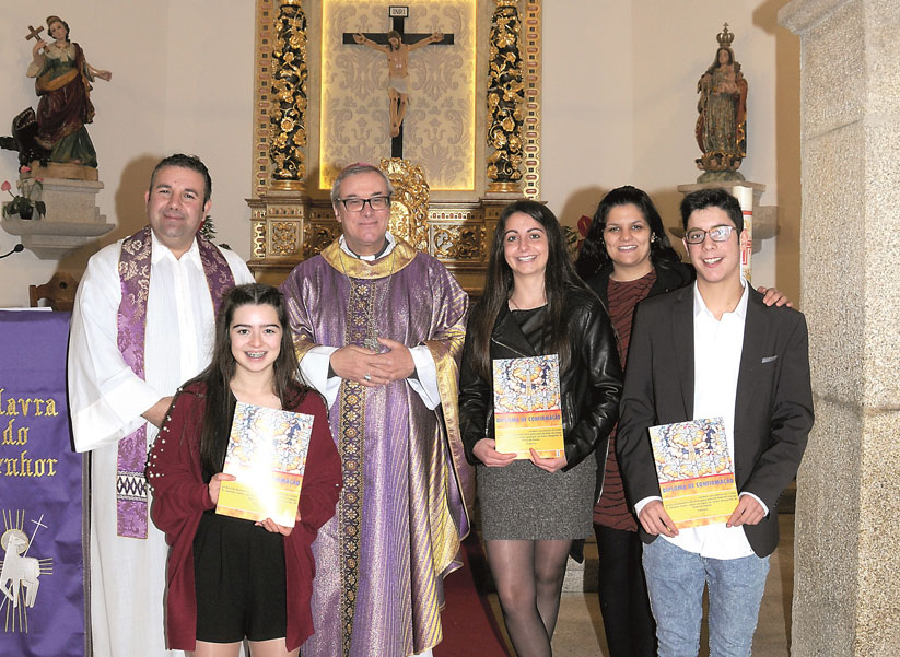 Visita Pastoral de D. António Couto à Paróquia de Póvoa de Penela