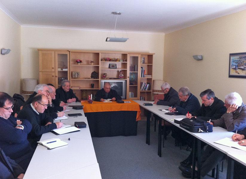 Sacerdotes da Diocese de Lamego em Retiro