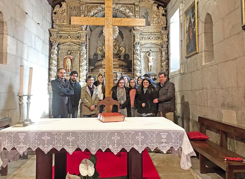 Paróquia de Sernancelhe acolhe Cruz das Jornadas Diocesanas da Juventude