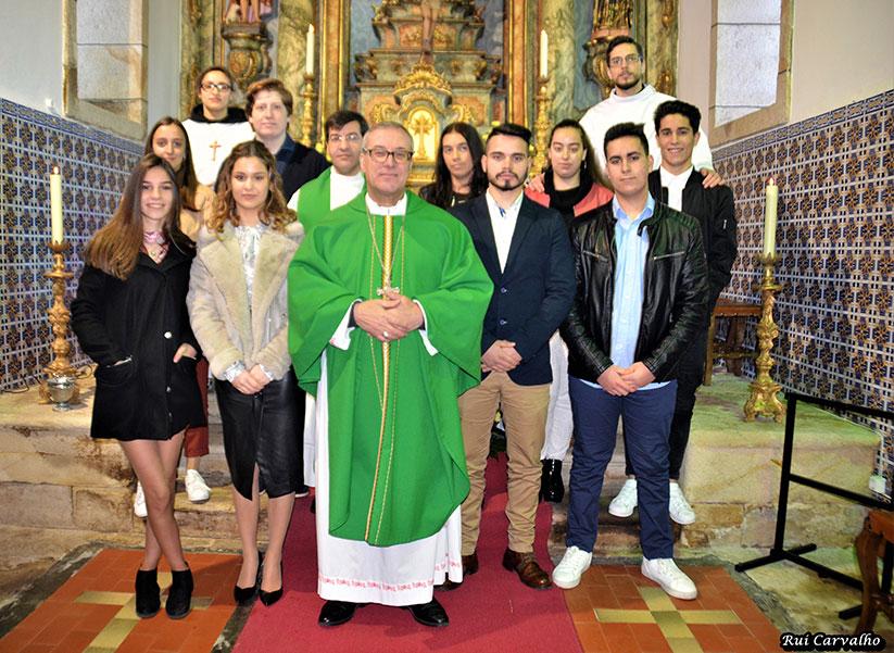 Visita Pastoral de D. António Couto Paróquia de São João Batista de Távora