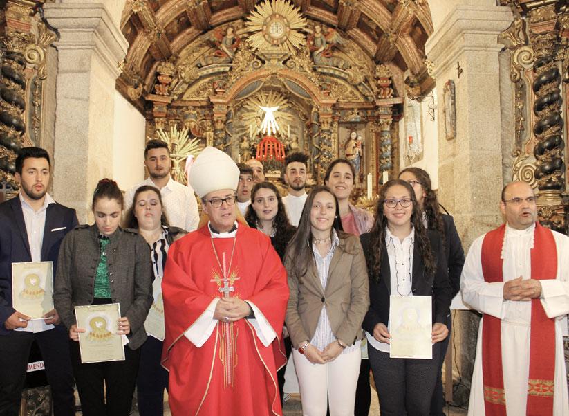 Visita Pastoral de D. António Couto à Paróquia de Longa