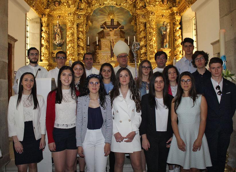 Paróquia de Tabuaço Visita Pastoral e celebração do Crisma