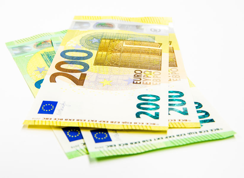 Aviso sobre as novas notas de 100 e 200 euros