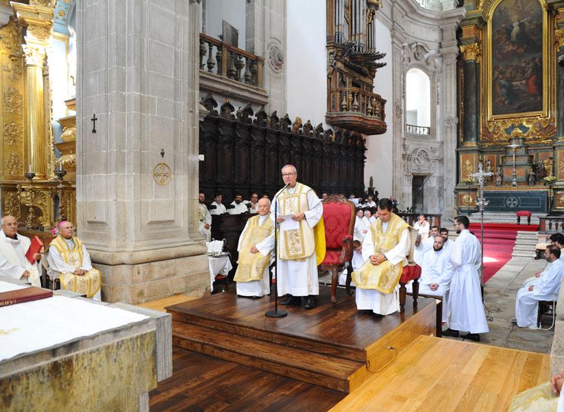 Homilia de D. António Couto na Ordenação Sacerdotal do Diogo Martinho