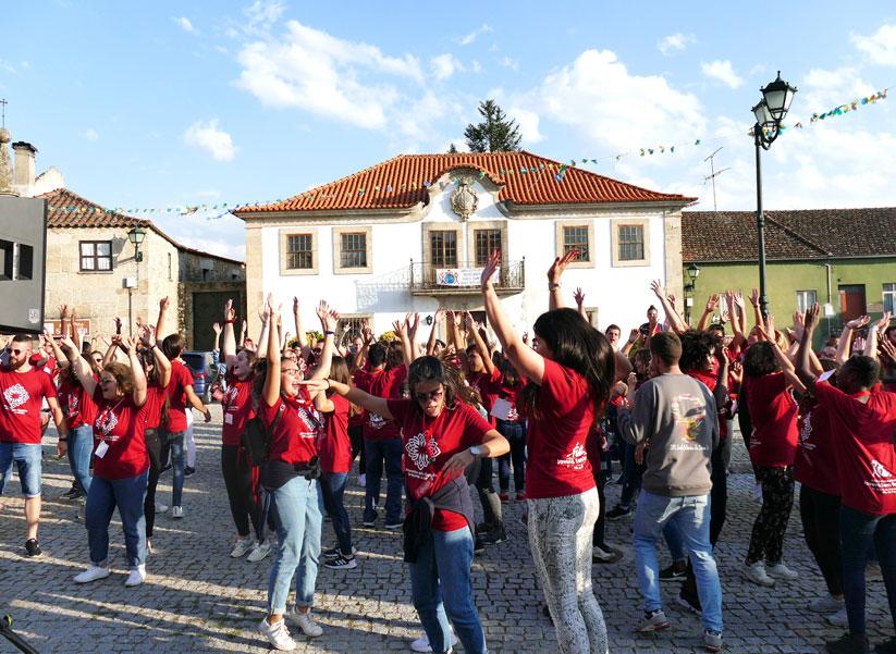 Encontro Nacional dos Jovens Sem Fronteiras, em Vila da Ponte