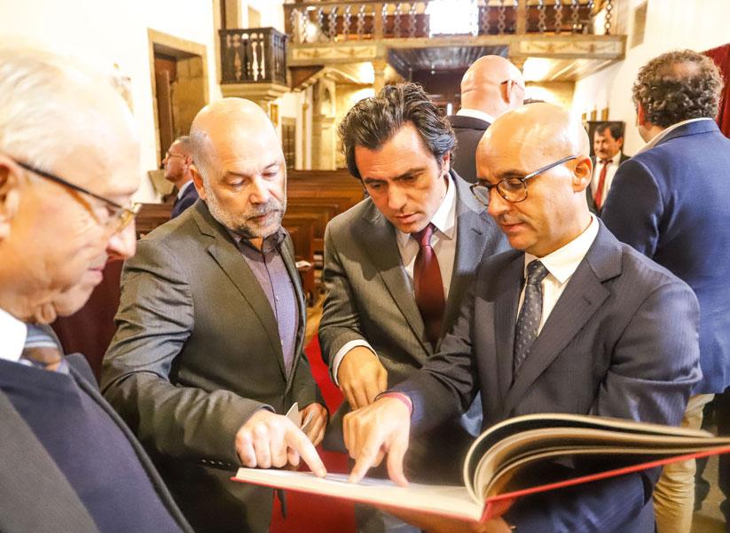 """Apresentação do livro """"A Igreja de Trevões: Identidade e legado"""" e inauguração das obras de conservação e restauro na Igreja de Trevões"""