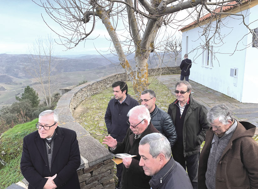 Visita Pastoral de D. António a Soutelo do Douro