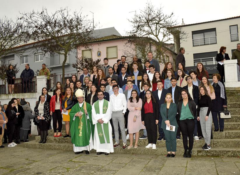 Visita Pastoral de D. António Couto à paróquia de São João da Pesqueira