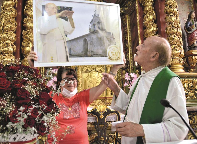 Pe. Ildo de Jesus completou 50 anos de pároco