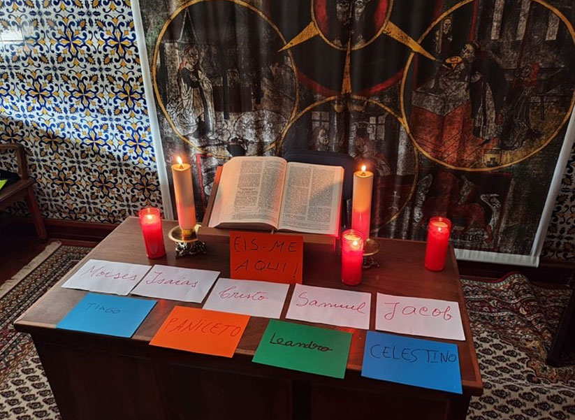 Recoleção Espiritual no Seminário de Lamego