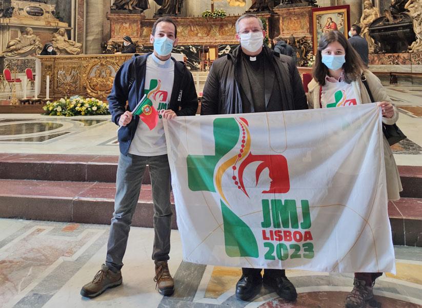 Peregrinação a Roma – Entrega dos Símbolos da JMJ