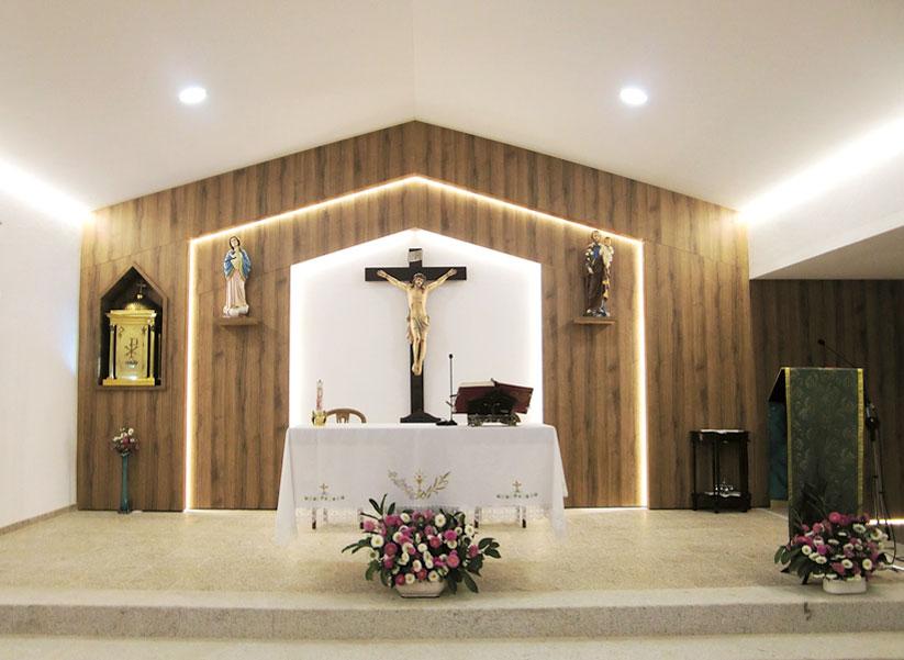 PONTE DO ABADE: Igreja requalificada